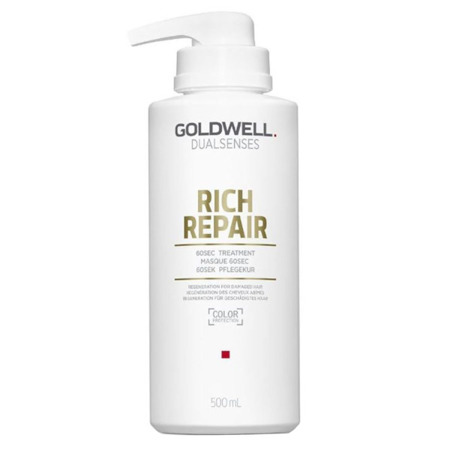 Goldwell DLS Rich Repair 60sec Treatment Maska odbudowująca 500ml