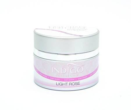 Indigo Easy Shape Light Rose Żel budujący 50ml